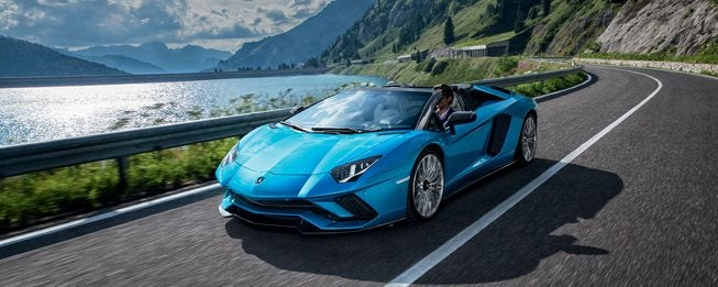 2019 Lamborghini Aventador S Roadster Los Angeles